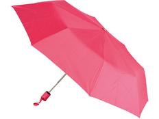 Зонт складной автомат, красный фото