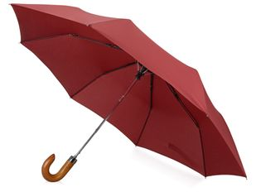 Зонт складной полуавтомат Cary, красный фото