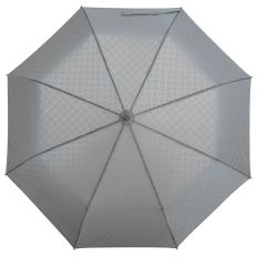 Зонт складной автомат Hard Work, светоло-серый фото