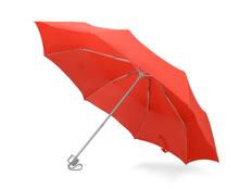 Зонт складной механический Tempe, красный фото