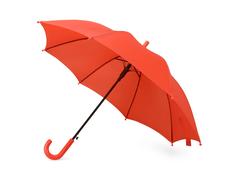 Зонт трость полуавтомат детский Edison, красный фото