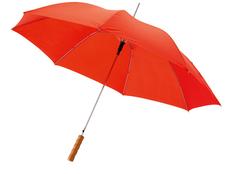 Зонт трость полуавтомат Lisa, красный фото