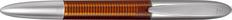 Ручка перьевая Senator Solaris, темно-оранжевая / серебристая фото