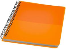 Блокнот в линейку на пружине Colour Block А5, 70 листов, оранжевый фото