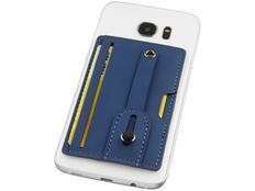 Бумажник для телефона с защитой RFID, синий фото