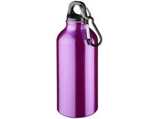 Бутылка алюминиевая с карабином Bullet Oregon 350 мл, фиолетовая фото