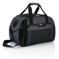 Дорожная сумка Supreme, черный/ серый фото