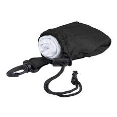 Дождевик в чехле с карабином Domin, черный / белый фото