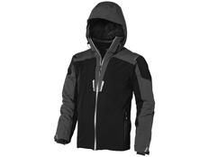Куртка мужская Elevate Ozark, черная/ серая фото