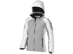 Куртка женская Elevate Ozark, белая/ серая фото