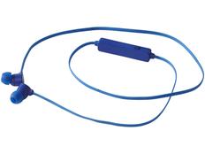 Наушники беспроводные внутриканальные Bluetooth, синие фото