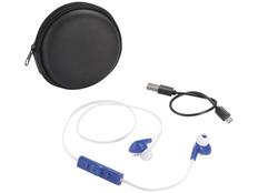 Наушники беспроводные внутриканальные Bluetooth Avenue Sonic, черные/ синие фото