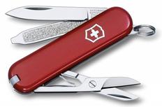 Нож складной 84 мм, 9 функций Victorinox Waiter, темно-красный фото