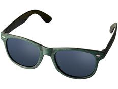Очки солнцезащитные Sun Ray, темно-зелёные фото