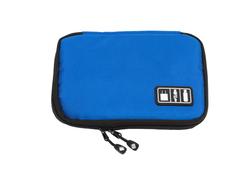 Органайзер для зарядных устройств, USB-флешек и других аксессуаров, синий фото