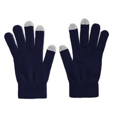 Перчатки для сенсорных экранов, синий фото