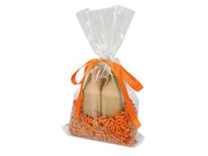 Набор подарочный Tea Duo с двумя видами чая, оранжевый фото