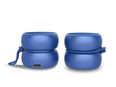 Колонки беспроводные парныеXoopar TWS YoYo Stereo, синие фото