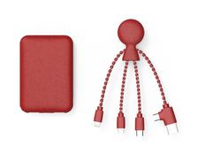 Зарядное устройство Xoopar BioPack Mr. Bio, 5000 mAh, красное фото