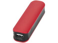 Зарядное устройство портативное Edge, 2000 mAh, красное фото