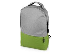 Рюкзак Fiji с отделением для ноутбука, зеленый/ серый фото