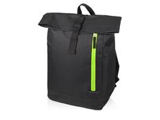 Рюкзак-мешок Hisack, черный/ зеленый фото
