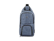 Рюкзак с одним плечевым ремнем, синий фото