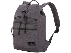"""Рюкзак с отделением для ноутбука 13"""" Swissgear, серый меланж/ черный фото"""