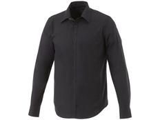 Рубашка мужская с длинными рукавами Elevate Hamell, черная фото