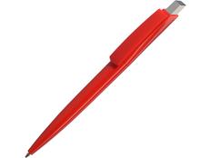 Ручка пластиковая шариковая Gito Solid, красная фото