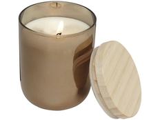 Свечка Lani с крышкой, коричневый/ золотой фото