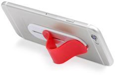 Подставка для смартфона сжимаемая, красный фото