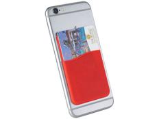 Футляр для кредитных карт, красный фото