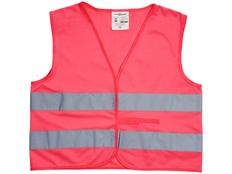 Жилет защитный See-me-too, неоново-розовый фото