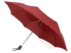 Зонт складной полуавтомат Irvine, бордовый фото