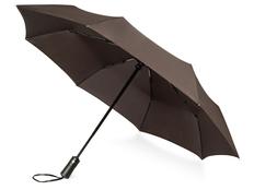 Зонт складной автомат Voyager Ontario, коричневый фото