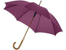Зонт трость полуавтомат Kyle, темно-бордовый фото
