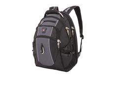 """Рюкзак с отделением для ноутбука 15"""" Swissgear, черный/ серый фото"""