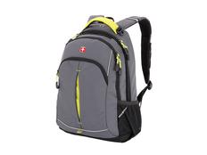 Рюкзак Swissgear, серый/ желтый фото