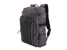 """Рюкзак с отделением для ноутбука 15"""" Wenger, черный/ темно-серый фото"""