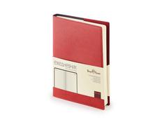 Ежедневник полудатированный Bruno Visconti Porto А5, бордовый фото