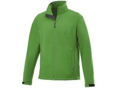 Куртка софтшел мужская Elevate Maxson, зеленая фото