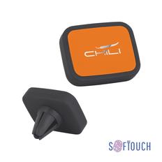 Держатель автомобильный для телефона Chili Allo2, черный / оранжевый фото