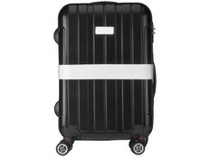 Багажный ремень, серый фото