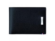 Бумажник S.T. Dupont Contraste натуральная кожа 110 х 85, черный фото