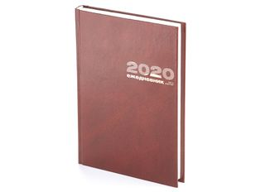 Ежедневник датированный Альт Бумвинил А5, коричневый фото