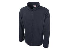 Куртка флисовая мужская Us Basic Seattle, темно-синяя фото