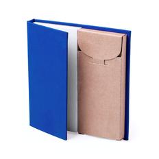 Набор LUMAR: листы для записи (60шт) и цветные карандаши (6шт), синий фото