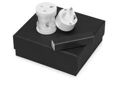 Набор Charge: адаптер для розетки Вольт, зарядное устройство Брадуэлл 2200 mAh, черный фото