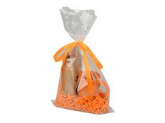 Наборподарочный Kvelly: чай и кружка, оранжевый фото